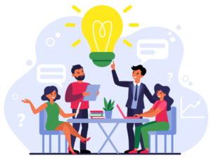 teamwork, ideas
