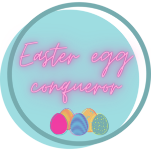 Aribo Easter badge